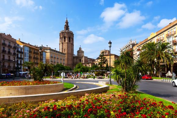 Plaza de la Reina Valencia Spanieni