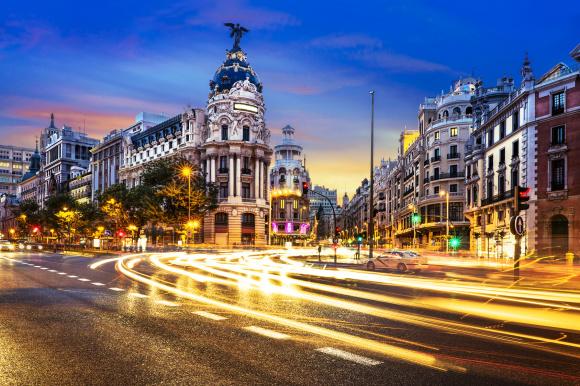 Madrid Spanien