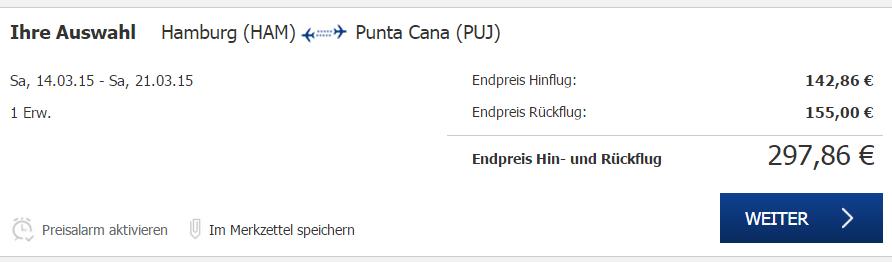 Punta Cana Flüge