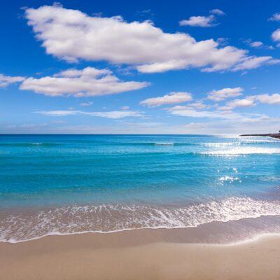 Alicante Spanien an der Costa Verde