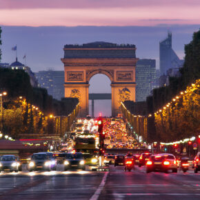 Paris: Flüge mit Air France Hin- und zurück für nur 56 €