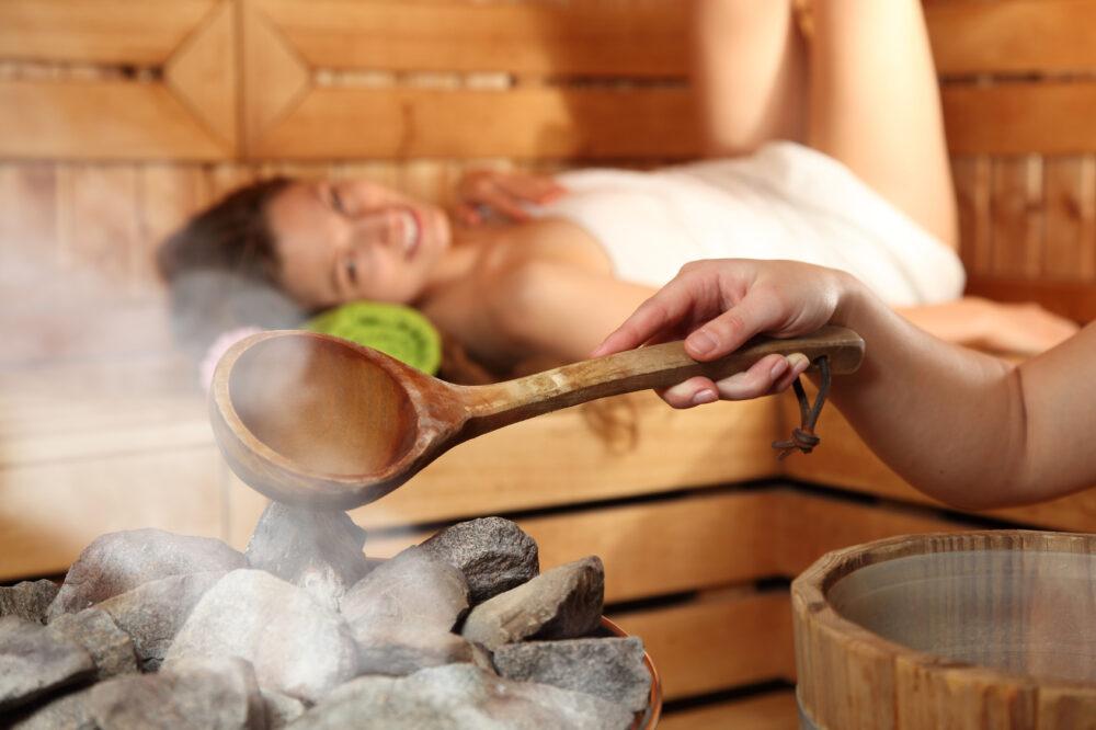 Wellness Saunaaufguss