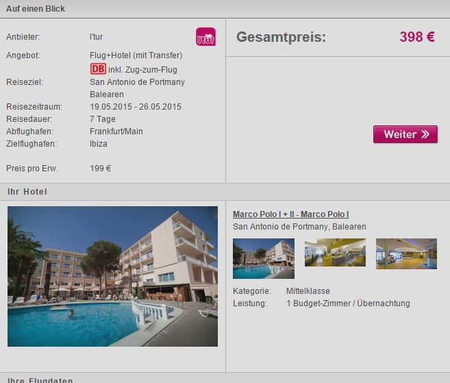 1 Woche Ibiza im Mai