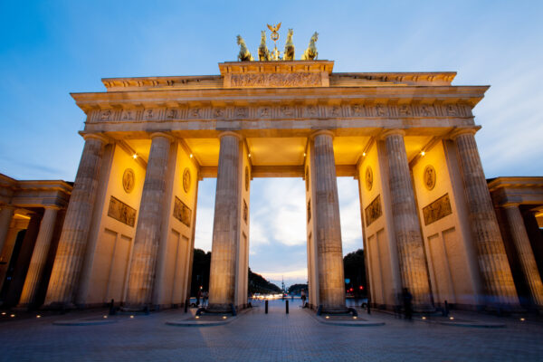 Brandenburg Tor in Berlin