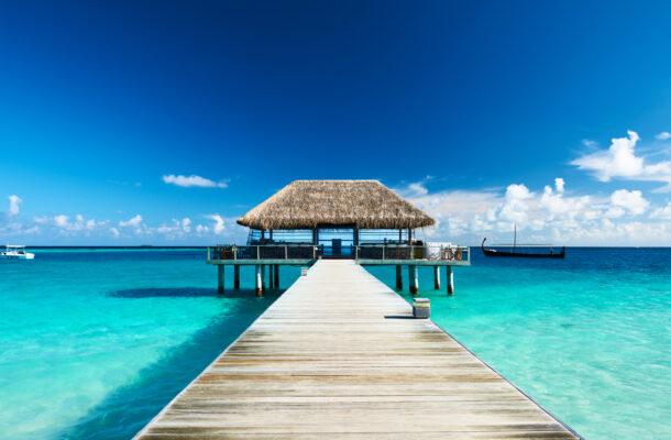Malediven Traum Hütten