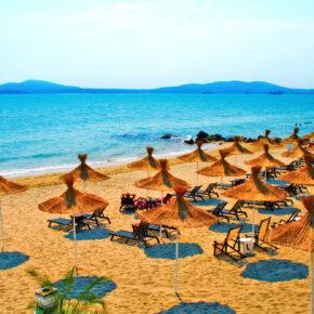 8 Tage All Inclusive Bulgarien im TOP 4.5* Luxus-Hotel mit Flug, Transfer & Zug nur 329€