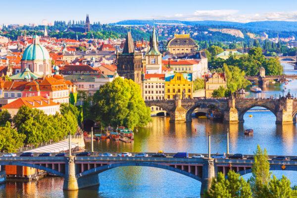 Altstadt und Fluss in Prag