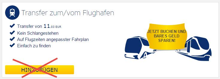 Ryanair Transfer