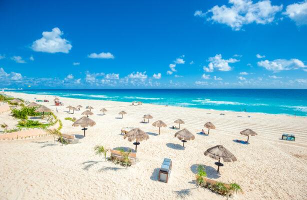 Cancun Sandstrand Mexiko