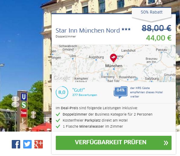 Hotel München Star Inn Nord