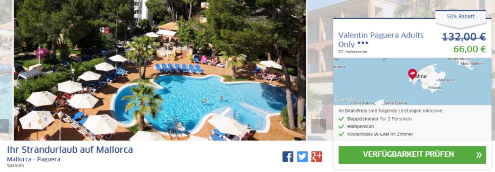 Mallorca Hotelschnäppchen