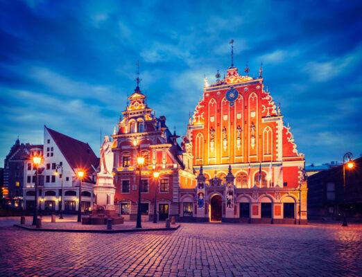 Riga Rathaus Städtetrip
