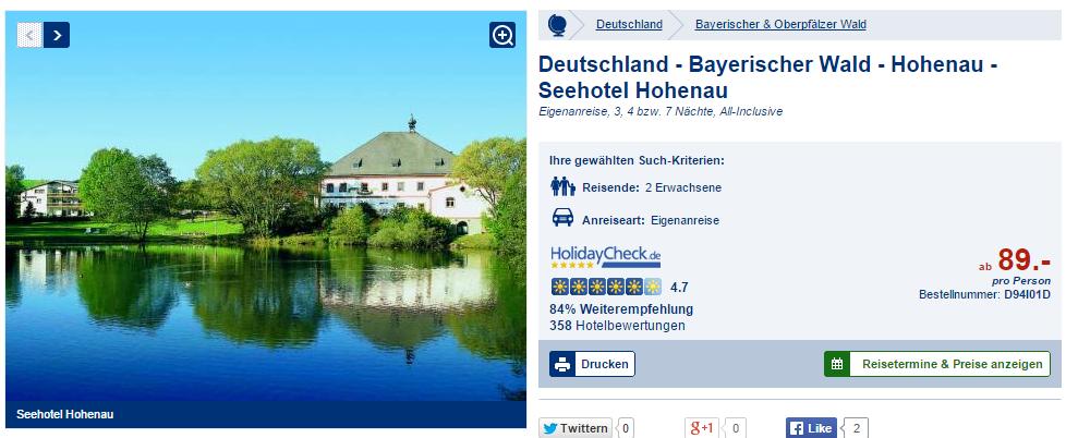 Seehotel Hohenau