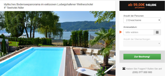 3 Tage Wellness Bodensee