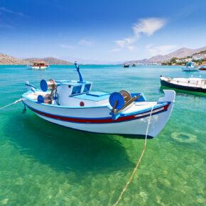 Lastminute: 5 Tage Kreta im guten 3* Hotel inkl. Frühstück, Flug, Transfer & Zug nur 275€