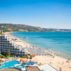 1 Woche Strandurlaub am Goldstrand, 4* Hotel mit All Inclusive nur 185 €