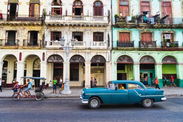 Havanna Kuba mit Oldtimer