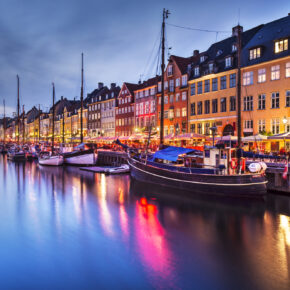 3 Tage Kopenhagen in zentralen & stylischer Unterkunft inkl. Hin- und Rückflug für nur 101€