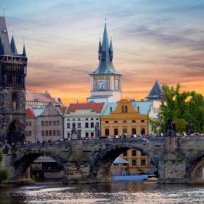 Wochenende in Prag: 2 Tage im TOP 4* Hotel mit Frühstück & Wellness ab 38€