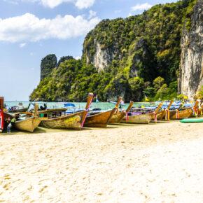 Hauptreisezeit Thailand: Hin- und Rückflüge nach Krabi mit Qatar Airways für 306€