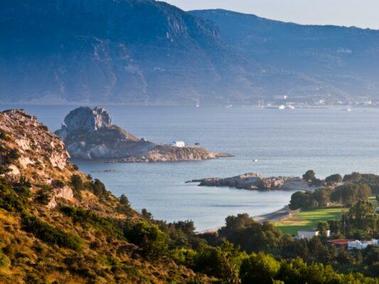 Ruinen auf Kos, Griechenland