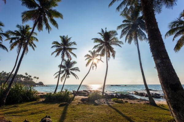 Sri Lanka Ozean am Strand