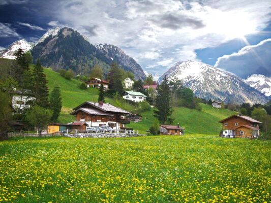 Wanderurlaub Alpen