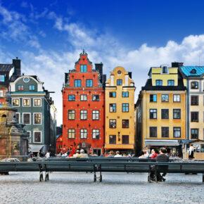 Wochenendtrip: 4 Tage Stockholm im Boot-Hotel mit Frühstück & Flug nur 169€