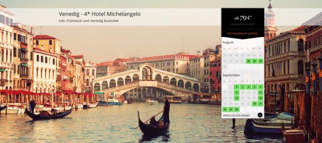 Venedig Hotel Schnäppchen