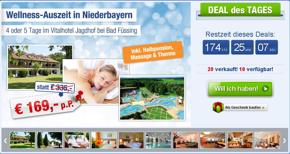 5 wohlf hltage in bayern mit halbpension massage therme nur 169. Black Bedroom Furniture Sets. Home Design Ideas