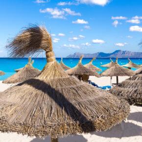 Balearen: 5 Tage Mallorca mit Hotel, Halbpension, Flug & Zug nur 133€ // 7 Tage für 173€