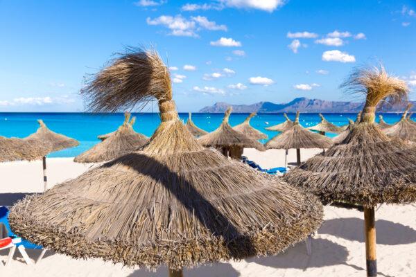 Cala Ratjada Strand auf Mallorca