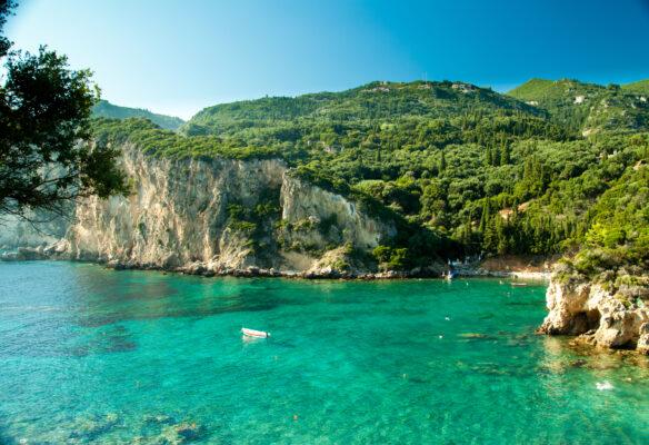 Paleokastritsa Bucht Korfu