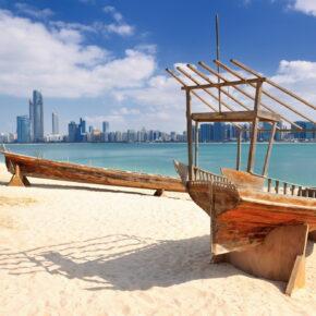 Abu Dhabi: 7 Tage im TOP 4* Hotel mit Frühstück, Flug & Zug nur 324€