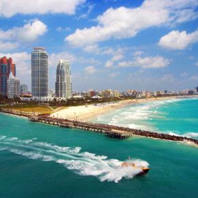 USA: 9 Tage Florida mit sehr gutem Strandapartment mit Flug nur 345€
