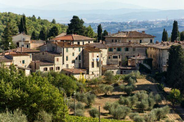 Toskana in Italien