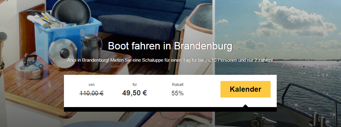 Boot in Brandenburg