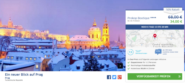 Prokop Hotel Prag