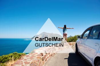 Gutschein CarDelMar: 10% bei der Mietwagenbuchung sparen!