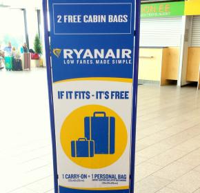 Ryanair & Gepäck: Eine Übersicht über die Gebühren
