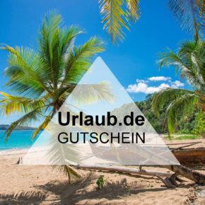 Urlaub.de Gutschein - 75 € auf Pauschalreisen und Hotelbuchungen sparen