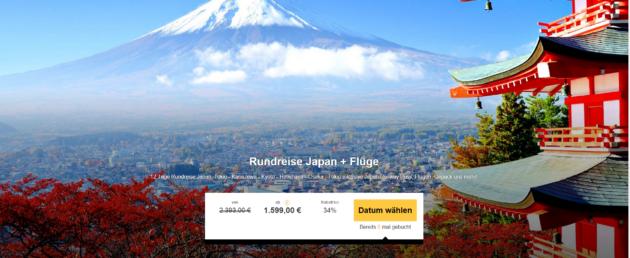 12 Tage Rundreise Japan