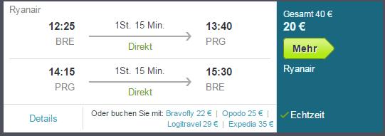 3 Tage Prag Flug Schnäppchen