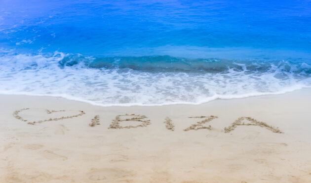 Ibiza Strand am Meer
