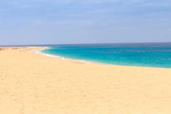 Kap Verde Sal Strand