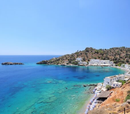 Loutro Strand auf Kreta