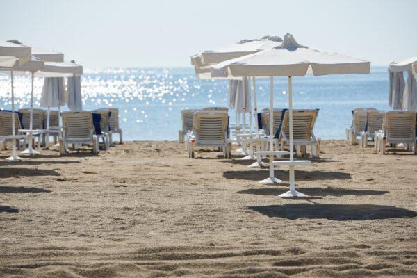 Strand Liegen Bulgarien