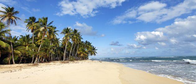 Reiseschnäppchen Karibik Strand Panorama