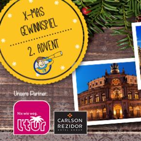 *Gewinner ausgelost* X-Mas Gewinnspiel - 2. Advent: Städtereise Dresden ins 4* Hotel inkl. Frühstück & Wellness