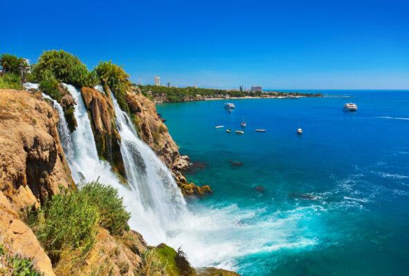 Türkei Alanya Wasserfall